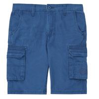 Vêtements Garçon Shorts / Bermudas Kaporal MEDEN Bleu