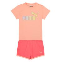 Vêtements Fille Ensembles enfant Puma BB SET ABRI Rose