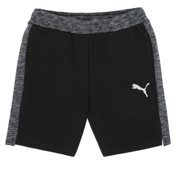 Vêtements Garçon Shorts / Bermudas Puma EVOSTRIPE SHORTS Noir