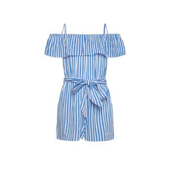 Vêtements Fille Combinaisons / Salopettes Pepe jeans LILI Bleu