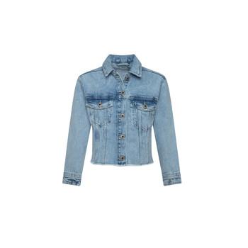 Vêtements Fille Vestes en jean Pepe jeans NICOLE JACKET Bleu