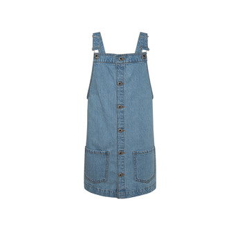 Vêtements Fille Robes courtes Pepe jeans CHICAGO PINAFORE Bleu