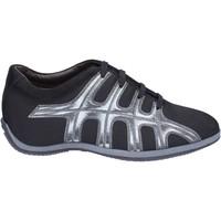 Chaussures Femme Baskets mode Hogan BK587 Noir