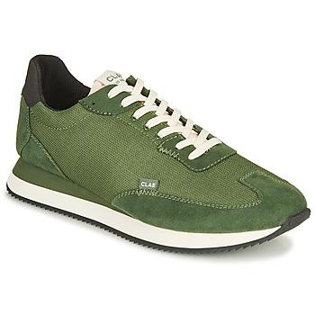 Chaussures Homme Baskets basses Clae RUNYON Vert