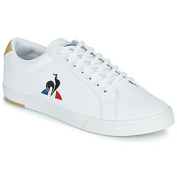 Chaussures Homme Baskets basses Le Coq Sportif VERDON II Blanc / Marron