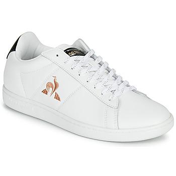 Chaussures Femme Baskets basses Le Coq Sportif COURTSET Blanc / Noir