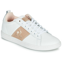 Chaussures Femme Baskets basses Le Coq Sportif COURTCLASSIC Blanc / Rose