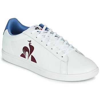 Chaussures Homme Baskets basses Le Coq Sportif MASTER COURT Blanc / Bleu