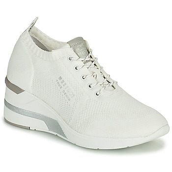 Chaussures Femme Baskets montantes Mustang THALIA Blanc