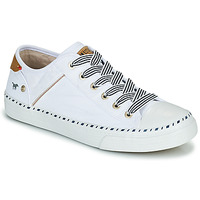 Chaussures Femme Baskets basses Mustang THEORA Blanc