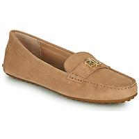 Chaussures Femme Mocassins Lauren Ralph Lauren BARNSBURY FLATS CASUAL Beige