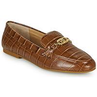 Chaussures Femme Mocassins Lauren Ralph Lauren AVERI Cognac
