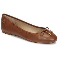 Chaussures Femme Ballerines / babies Lauren Ralph Lauren JAYNA Cognac