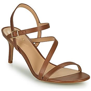 Chaussures Femme Sandales et Nu-pieds Lauren Ralph Lauren LANDYN Cognac