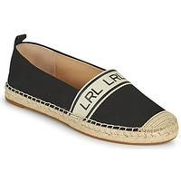 Chaussures Femme Espadrilles Lauren Ralph Lauren CAYLEE Noir
