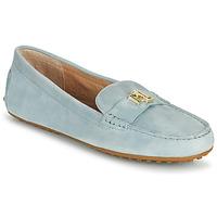 Chaussures Femme Mocassins Lauren Ralph Lauren BARNSBURY FLATS CASUAL Bleu Ciel