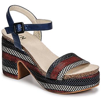 Chaussures Femme Sandales et Nu-pieds Elue par nous JOKARY Bleu
