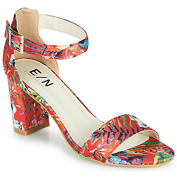 Chaussures Femme Sandales et Nu-pieds Elue par nous JOUAL Rouge