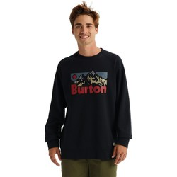 Vêtements Homme Sweats Burton Men's  Vista Crew True Black