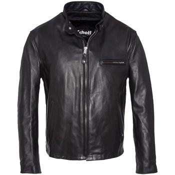 Vêtements Homme Vestes en cuir / synthétiques Schott 141 NOIR Noir