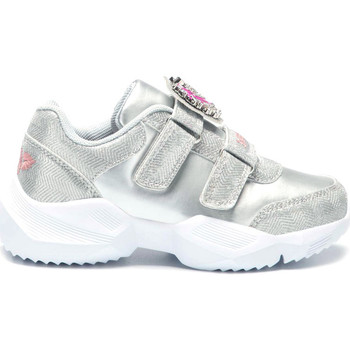 Chaussures Fille Baskets basses Lelli Kelly Unicorno sneaker Argento