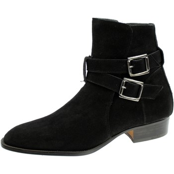 Chaussures Homme Boots Progetto 3626 Nero