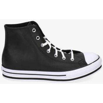 Chaussures Femme Baskets montantes Converse CTAS PLATFORM Noir