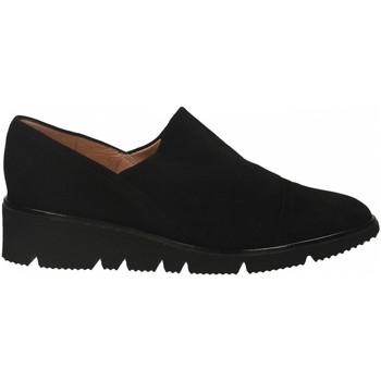 Chaussures Femme Derbies Il Borgo Firenze CAMOSCIO nero
