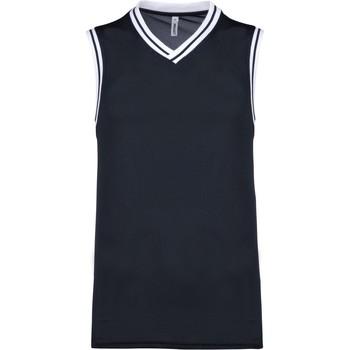 Vêtements Débardeurs / T-shirts sans manche Proact Débardeur  university bleu marine/blanc