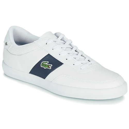 Chaussures Homme Baskets basses Lacoste COURT-MASTER 0721 1 CMA Blanc / Marine