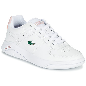 Chaussures Femme Baskets basses Lacoste GAME ADVANCE 0721 2 SFA Blanc / Rose