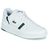 Chaussures Homme Baskets basses Lacoste T-CLIP 0721 2 SMA Blanc / Vert