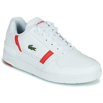 Chaussures Homme Baskets basses Lacoste T-CLIP 0721 2 SMA Blanc / Rouge