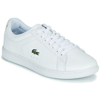 Chaussures Femme Baskets basses Lacoste CARNABY EVO BL 21 1 SFA Blanc