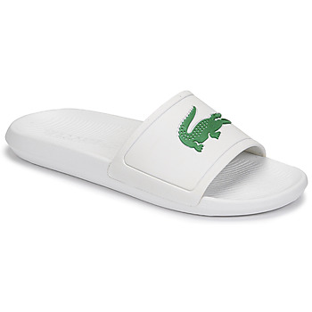 Chaussures Homme Claquettes Lacoste CROCO SLIDE 119 1 CMA Blanc / Vert