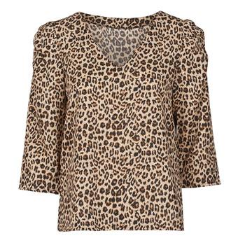 Vêtements Femme Tops / Blouses Moony Mood NOULIETTE Beige / Marron