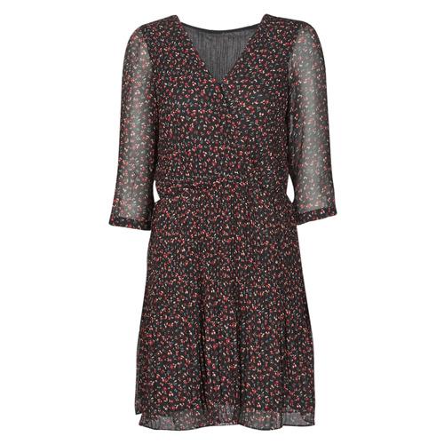 Vêtements Femme Robes courtes Moony Mood NOULINE Noir / Rouge