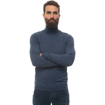Vêtements Pulls Hugo Boss MUSSOP-50392083418 blue denim