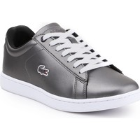 Chaussures Femme Baskets basses Lacoste Carnaby Evo 317 7-34SPW0010024 srebrny