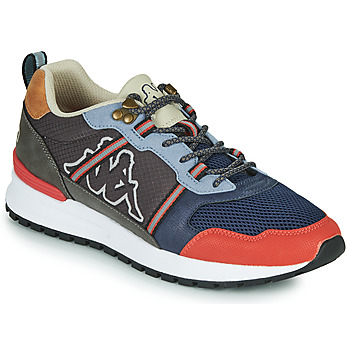 Chaussures Homme Baskets basses Kappa LINO Gris / Marine / Orange
