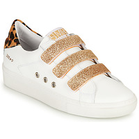 Chaussures Femme Baskets basses Semerdjian GARBIS Blanc / Doré