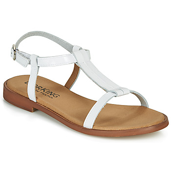 Chaussures Femme Sandales et Nu-pieds Dorking LEYLA Blanc