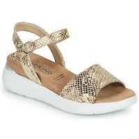 Chaussures Femme Sandales et Nu-pieds Dorking ROCK Doré