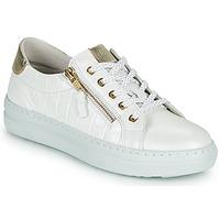 Chaussures Femme Baskets basses Dorking VIP Blanc / Argenté