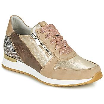 Chaussures Femme Baskets basses Dorking VIOLA Doré
