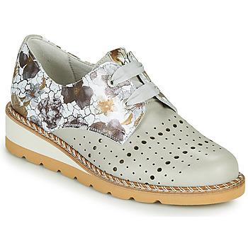 Chaussures Femme Derbies Dorking TETRIS Gris