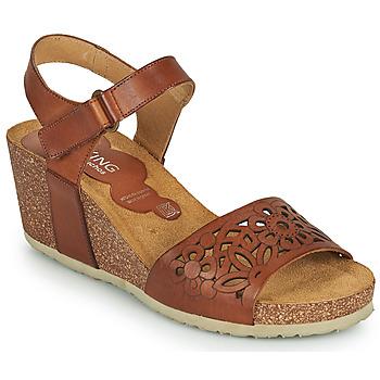 Chaussures Femme Sandales et Nu-pieds Dorking PALMA Marron