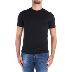 Vêtements Homme T-shirts manches courtes Cruciani CUJOSB G30 Noir