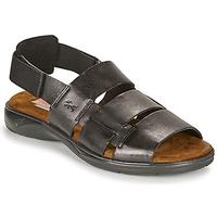 Chaussures Homme Sandales et Nu-pieds Fluchos 1200-SURF-NEGRO Noir
