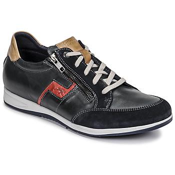 Chaussures Homme Baskets basses Fluchos 0207-AFELPADO-MARINO Marine